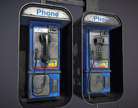 3D model Pay Phone