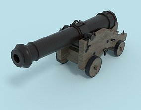 Colubrina Cannon 32lb 3D model