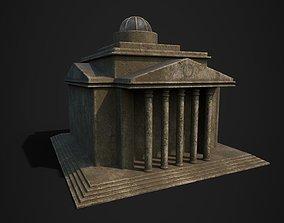 Old Roman Building 3D asset