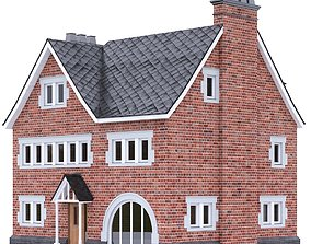 English Brick House 24 3D asset realtime