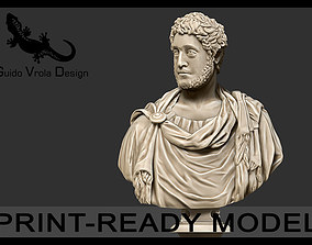Printable bust of Commodus Emperor