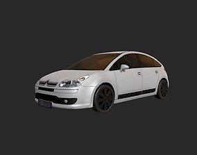 Low Poly Car 8 3D asset