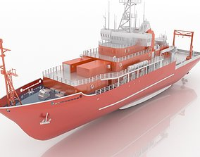 American Oceanographic Research Vessel 3D