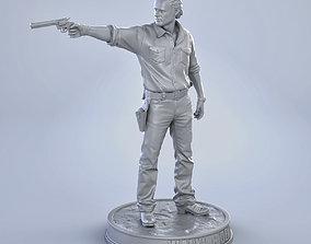 3D printable model Rick Grimes