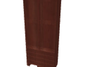 Wardrobe cherry 3D