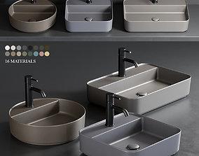 Ceramica Cielo Shui Comfort Washbasin 3D asset