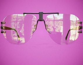 3D asset Glass Glasses