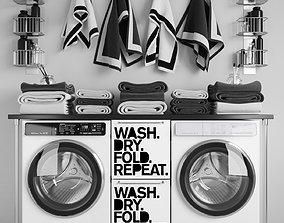 3D Laundry Set 4