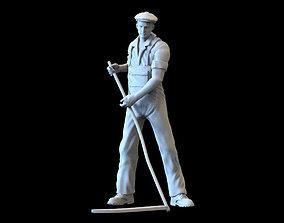 mower man farmer 3D printable model