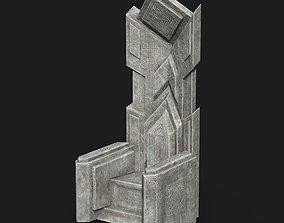 Dwarf Stone Throne 3D model
