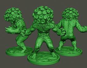 3D printable model Humanoid virus 0011