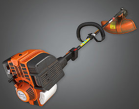 TLS - Weed Trimmer - PBR Game Ready 3D model