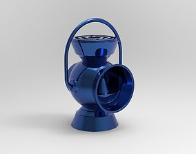 Blue Lantern Battery Ring Holder 3D printable model