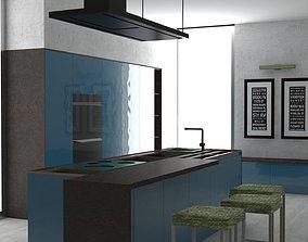 Interior Design Kitchen2 3D model