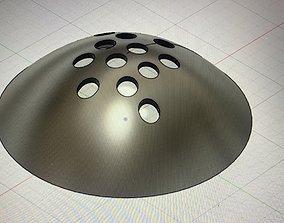 3D print model Flying Saucer Kitchen Drain Cover