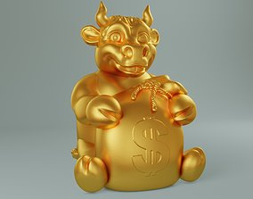 Golden bull 3D printable model