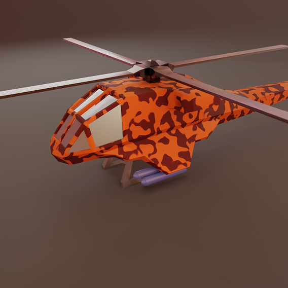 Lowpoly Helicopter