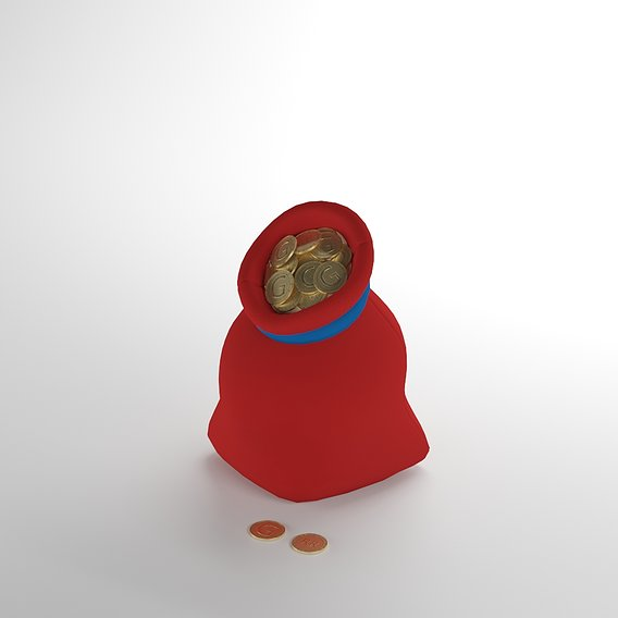 bag of gold coin