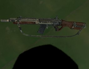 3D asset Weapon Maverick AR