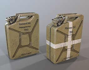 Jerry can 3d model low-poly