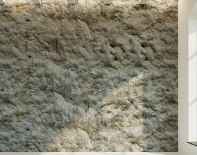 Concrete wall Old concrete 43 3D model
