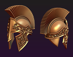 Spartan helmet 3D printable model