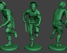 Modern Jungle Soldier Run6 MJS1 3D printable model
