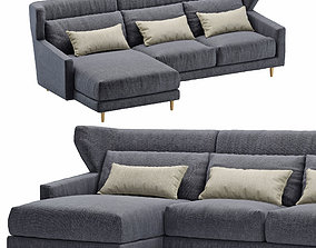Sofa corner SANCAL folk 3D model