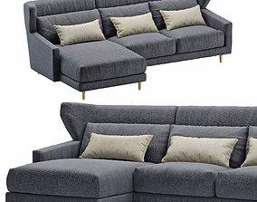 3D model Sofa corner SANCAL folk