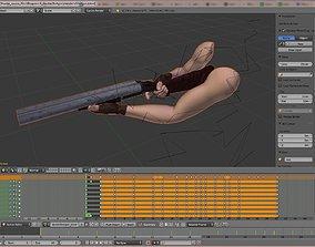 3D asset Classic Shooter Source Files