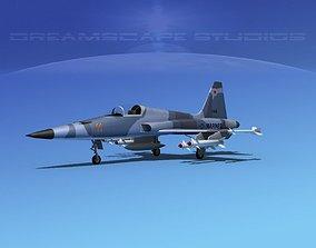 Northrop F-5E Tiger Marines 3D model