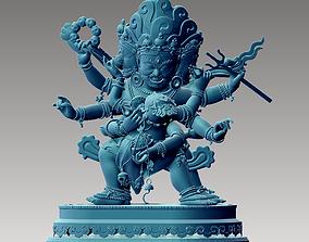 bodhisattva 3D print model Tibetan Buddha