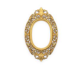 3D print model Frame mirror 17