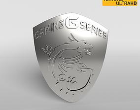 MSI Logo 03 - 8K Texture 3D