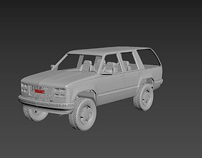 GMC Yukon 1999 3D print model