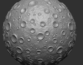 3D printable model Moon meteor