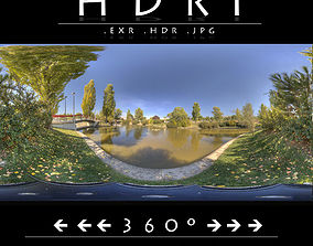 3D model HDR 11 PARK LAKE 2
