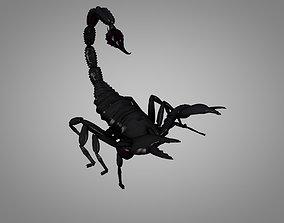 Scorpion 3D model animated