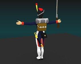Grenadier of the guard Napoleon 3D model