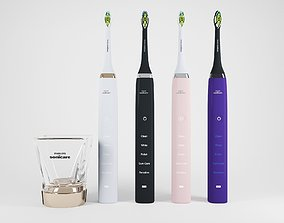 3D model Electric Toothbrush Set