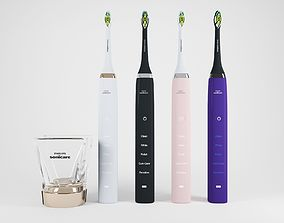 3D model Electric Toothbrush Set