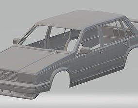 Volvo 740 Printable Body Car volvo