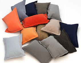 Pillows sofa 3D model
