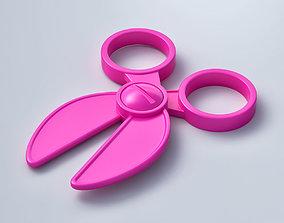 3D model Barbie Scissors