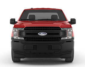 3D model Ford F150 XL reg pickup