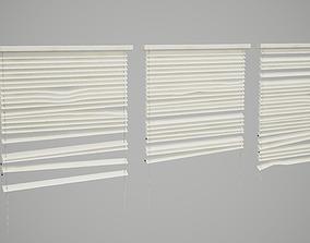 3D model Broken Window Blinds