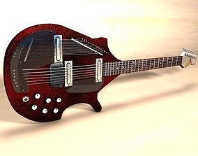3D Electric Sitar