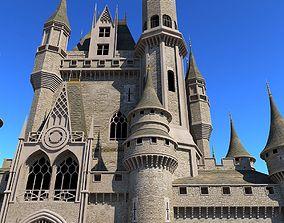 Castle 3D Model gate