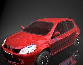 Renault Clio 3D asset