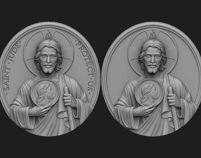 3D print model Saint Jude Medallion